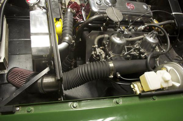 Moss Motors Cold Air Intake : MGB & GT Forum : MG Experience