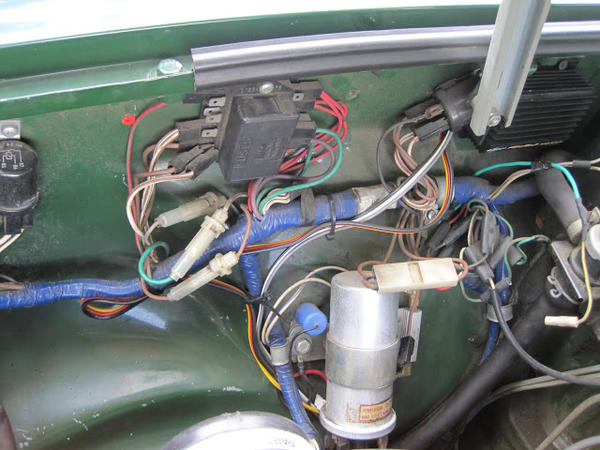 1978 MGB Engine Bay Wiring Harness : MGB & GT Forum : MG ...