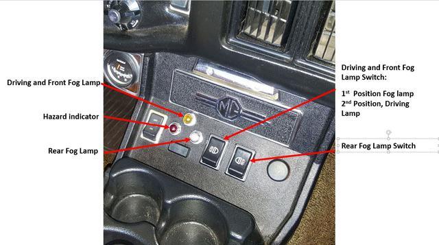Driving Lights  Manual And High Beam   Mgb  U0026 Gt Forum   Mg
