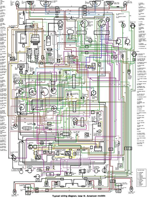 1975 Mgb Wiring Diagram Large Blow Up   Mgb  U0026 Gt Forum