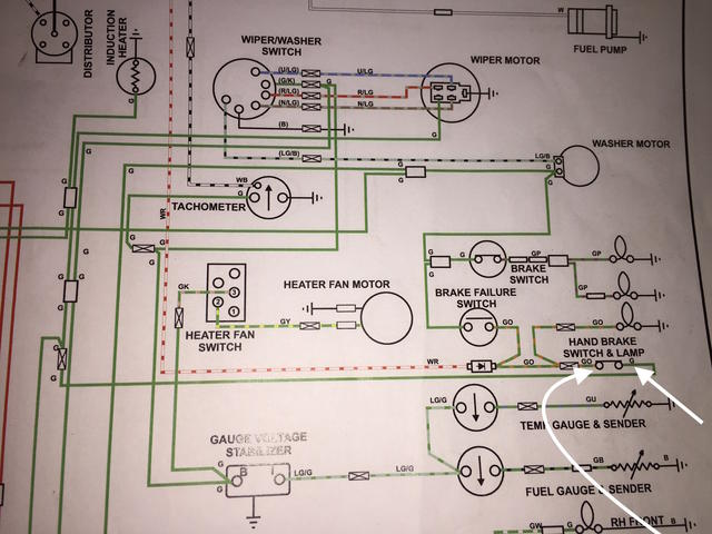 Help With Making Sense Of Wiring Diagram Mgb Gt Forum Mg Experience Forums The Mg Experience