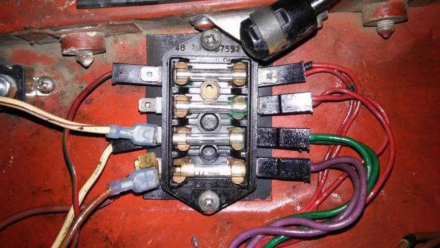 mgb fuse box cover volkswagen beetle fuse box wiring diagrams bmw fuse box 1977 mgb cold stock fuse block photo wanted mgb & gt forum mg volkswagen beetle fuse