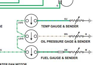 gauge wiring assistance mgb gt forum mg experience forums the mg experience. Black Bedroom Furniture Sets. Home Design Ideas