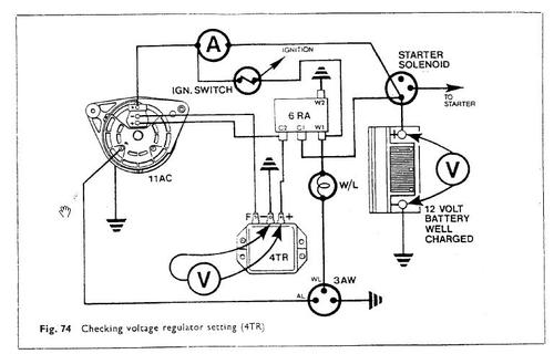 lucas1 alternator wiring mgb & gt forum mg experience forums the mg lucas 16 acr alternator wiring diagram at n-0.co