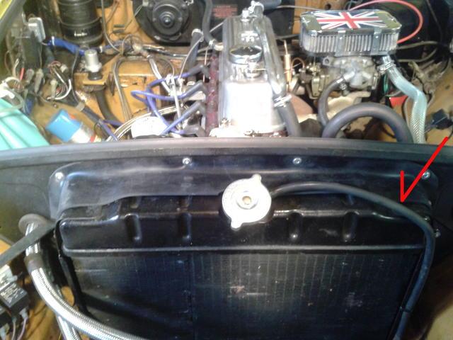 Radiator overflow tube : MGB & GT Forum : MG Experience