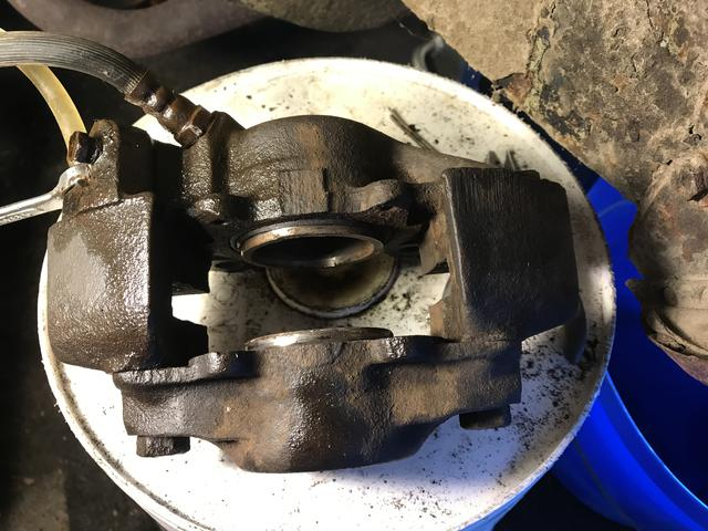Remarkable, rebuilt mg midget caliper sorry, that