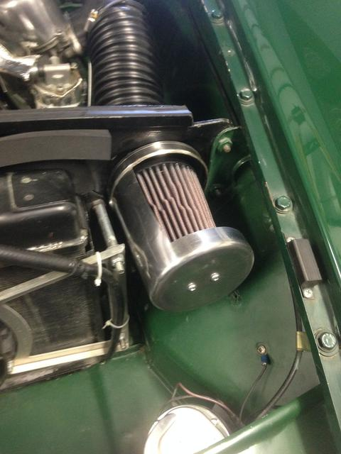 Cold air intake : MGB & GT Forum : MG Experience Forums