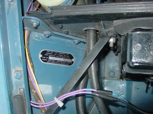 Vin Plate For A 68 Mgb Again Gt Forum Mg Experience Rhmgexp: Mg Vin Location At Gmaili.net