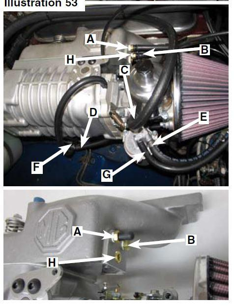 Supercharger and vacuum/boost port : MGB & GT Forum : MG Experience