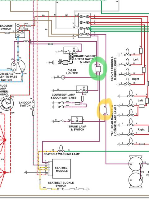 Mgb Wiring Diagram Light