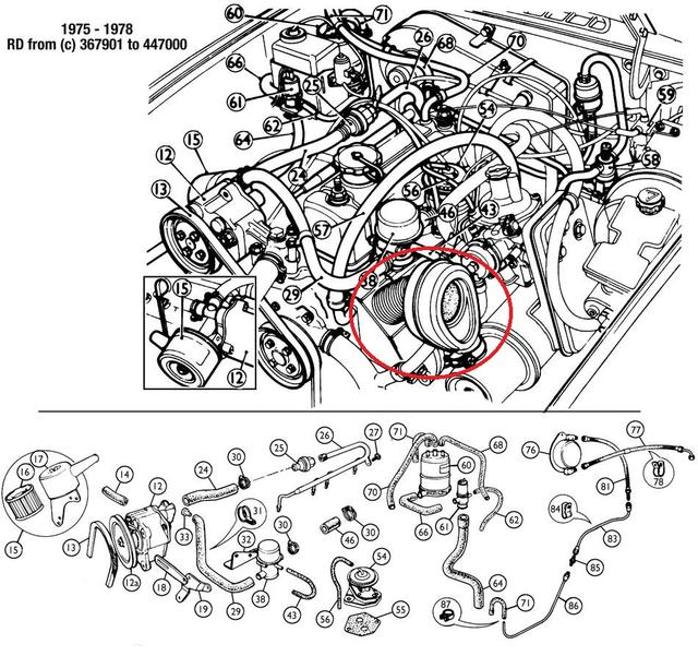 1978 MGB Emission Control parts : MGB & GT Forum : MG