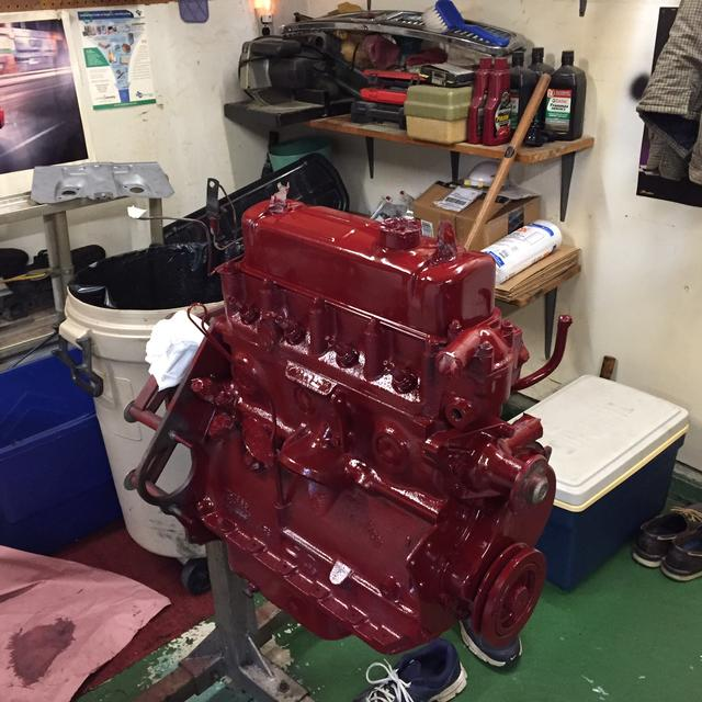 Source for Dark Canyon Red Engine Paint by Dupli-color ...