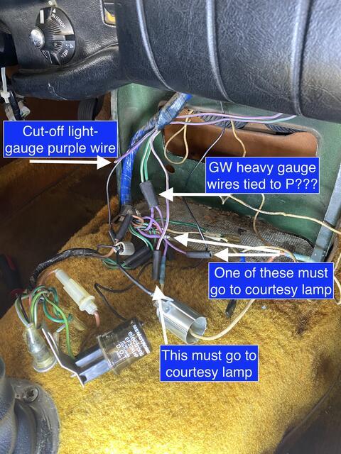 Console Wiring FUBAR : MGB & GT Forum : MG Experience Forums : The MG  ExperienceThe MG Experience