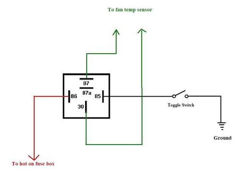 manualfanswitch thermo fan switch bypass mgb & gt forum mg experience forums thermal switch wiring diagram at gsmportal.co