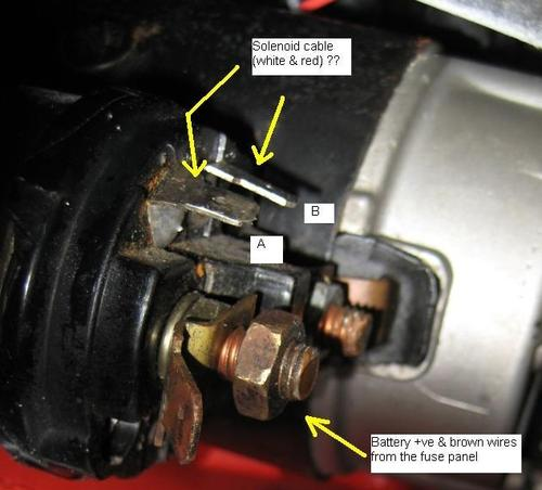 Starter Motor Wiring   Mgb  U0026 Gt Forum   Mg Experience Forums   The Mg Experience