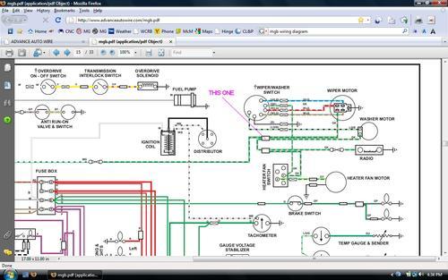 79 mgb wiper wiring diagram   27 wiring diagram images