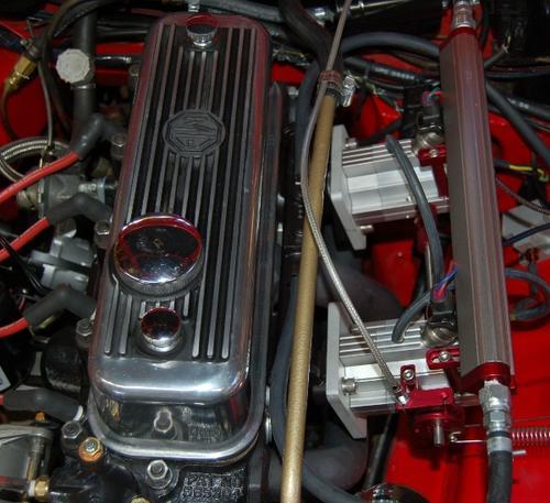 Midget fuel injection conversion assured
