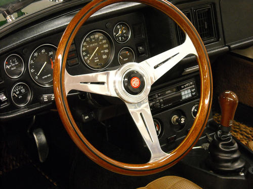 Wheel steering size midget mg