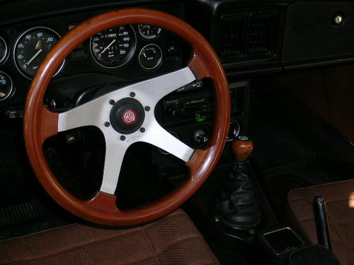 Size steering mg midget wheel