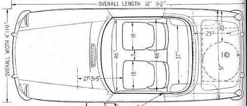 Dimensional Line Drawing Mgb Amp Gt Forum Mg Experience