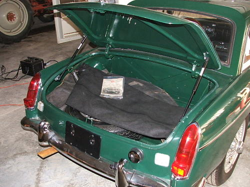 Trunk Lid Replacement Mgb Amp Gt Forum Mg Experience