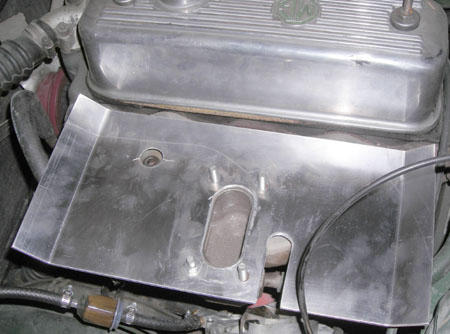 weber heat shield : MGB & GT Forum : MG Experience Forums : The MG