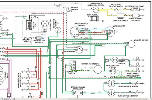 1977_MGB_Elec_Schematic_Volt_Stabilzer_Close_up_Illust mga 1600 wiring diagram diagram wiring diagrams for diy car repairs 1972 mgb wiring diagram at edmiracle.co