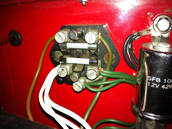 electrical problem lights and accessories mga forum mg mga1600elec3 jpg