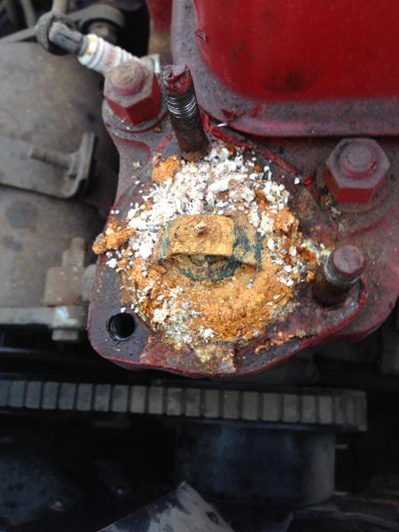Cleaning rusty cooling system : MGA Forum : MG Experience