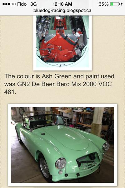 Ash Green Paint ~ Ash green paint mga forum mg experience forums the