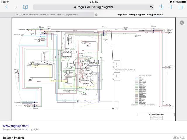 IMG_0189 mga turn signals and brake lights not working mga forum mg 1959 mga wiring diagram at alyssarenee.co
