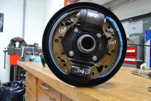 Classic Mini MG Midget Sprite Rear Brake Shoe Adjuster Kit