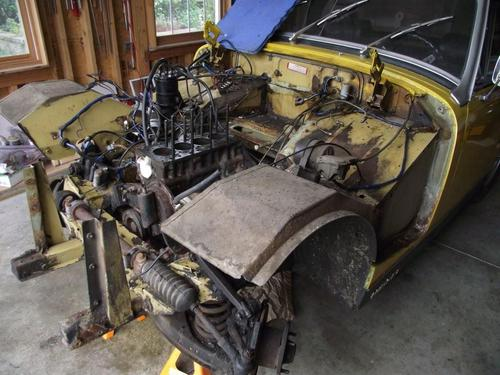 Engine Bay Cleaning Mg Midget Forum Mg Experience