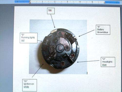 Austin Healey Bugeye Sprite Wiring Diagram