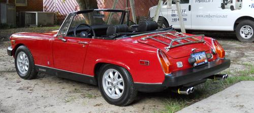 Custom mg midget parts inna