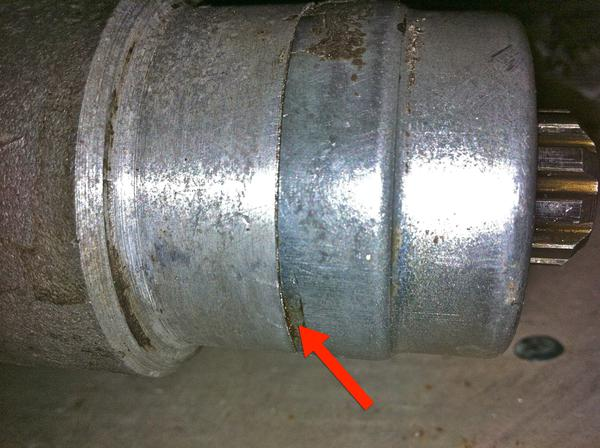 Rear Transmission Seal Removal : MG Midget Forum : MG Experience