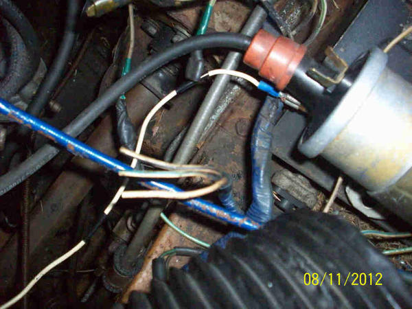1976 MG Midget 1500 Wiring : MG Midget Forum : MG Experience ... Darsun Points Ignition Wiring Diagram on