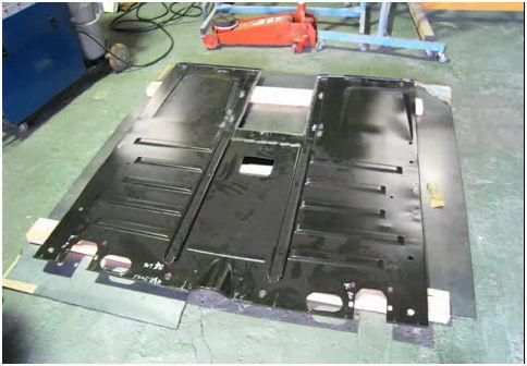 Floor pan replacement : MG Midget Forum : MG Experience