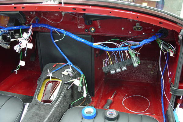 taped_back_up bugeye factory harness vs painless mg midget forum mg wiring harness bugeye sprite at mifinder.co
