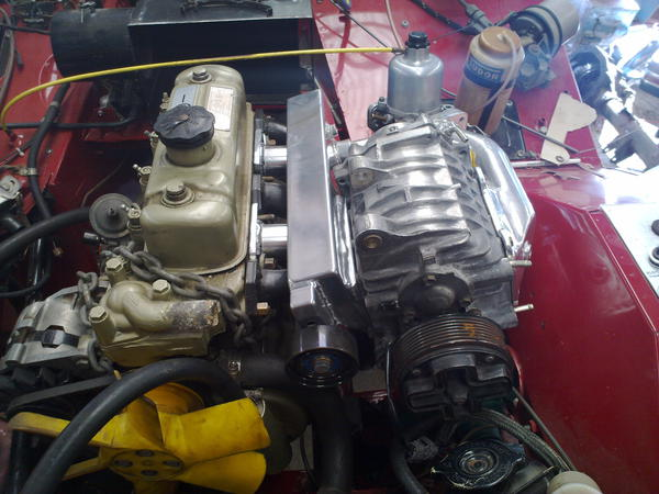 Supercharge a 1500? : MG Midget Forum : MG Experience Forums