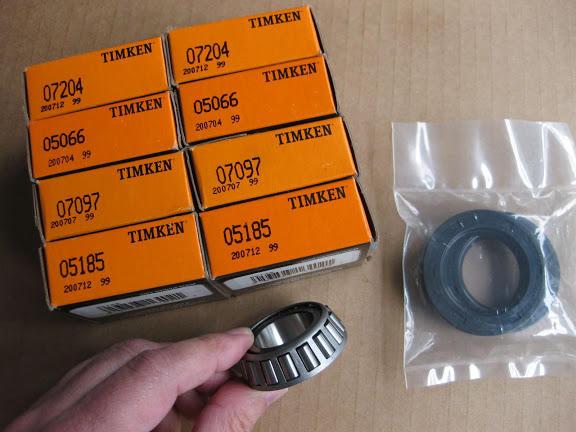 Timken Front Inner Wheel Bearing /& Race Set for 1965-1980 MG MGB  du