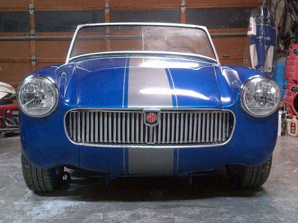 Mg midget front bumper