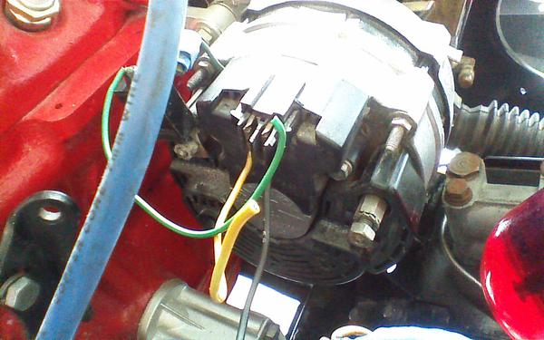 alternator wiring help and such : mg midget forum : mg experience forums :  the mg experience  the mg experience