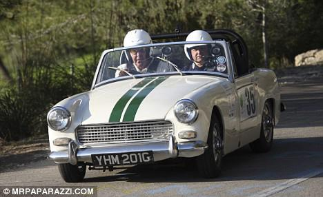 Car Mg midget rally