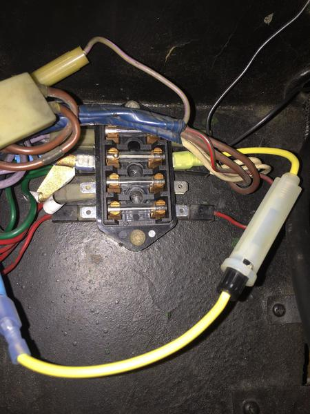 Fuse box question : MG Midget Forum : MG Experience Forums : The MG  ExperienceThe MG Experience