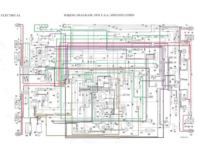 [SCHEMATICS_49CH]  Working on wiring for your 76? Color coded diagrams to share : MG Midget  Forum : MG Experience Forums : The MG Experience | 76 Mg Midget Wiring Schematic |  | The MG Experience