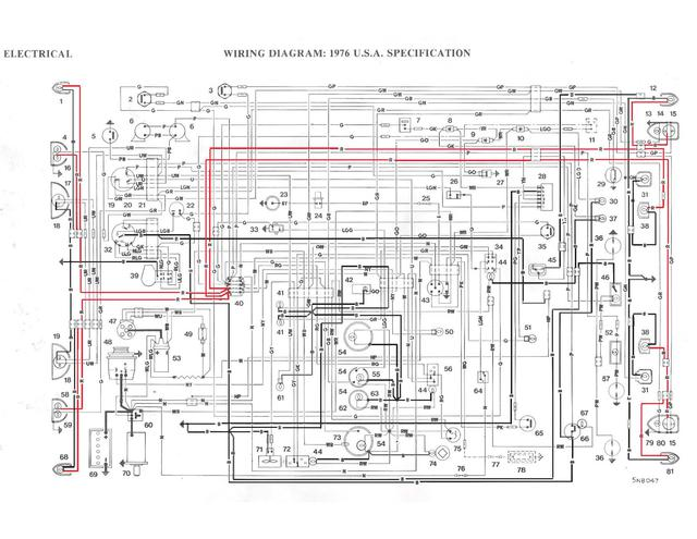 Working on wiring for your 76? Color coded diagrams to share ... on mg midget alternator, mg midget diagram, mg midget turn signals, mg midget solenoid wiring, mg midget forum,