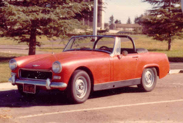 Roll Bar Mounting Different Years : MG Midget Forum : MG