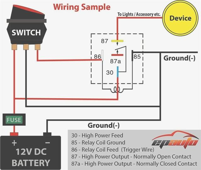 on hid with relay wiring diagram