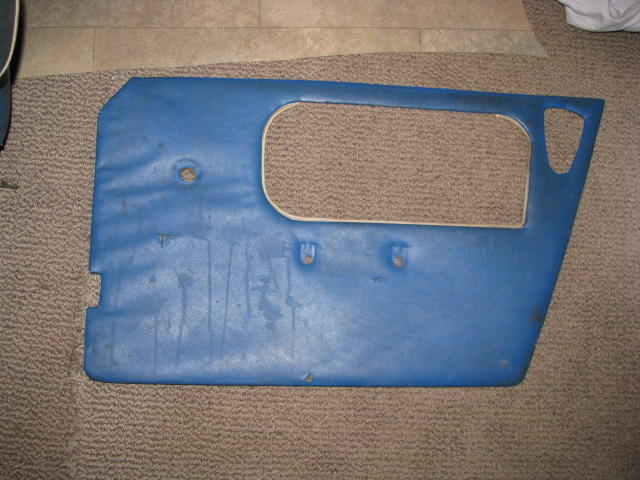 MG   NEW PAIR BLACK MIDGET  DOOR TRIM PANELS  197O ON DOOR CARDS  ***